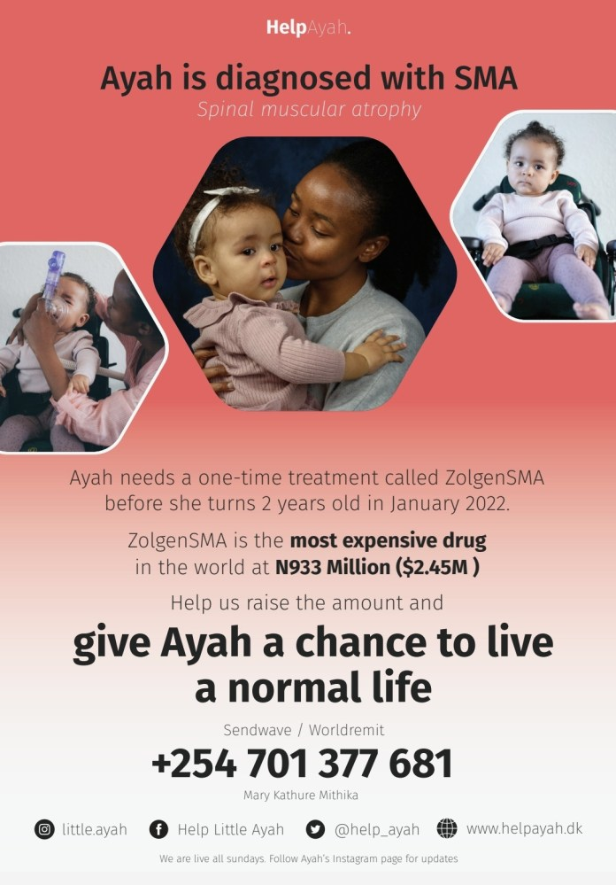 Help save little Ayah ... She