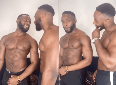 Doyin Okupe's son, Bolu, shares loved-up video with his 'boo', Mfaomé