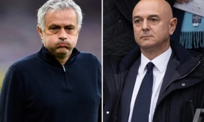 Tottenham sacks Jose Mourinho after 17 months in charge