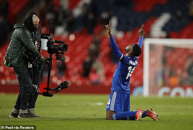 Kelechi Iheanacho declares love for FA Cup after his goal helped his club side reach the final of the competition