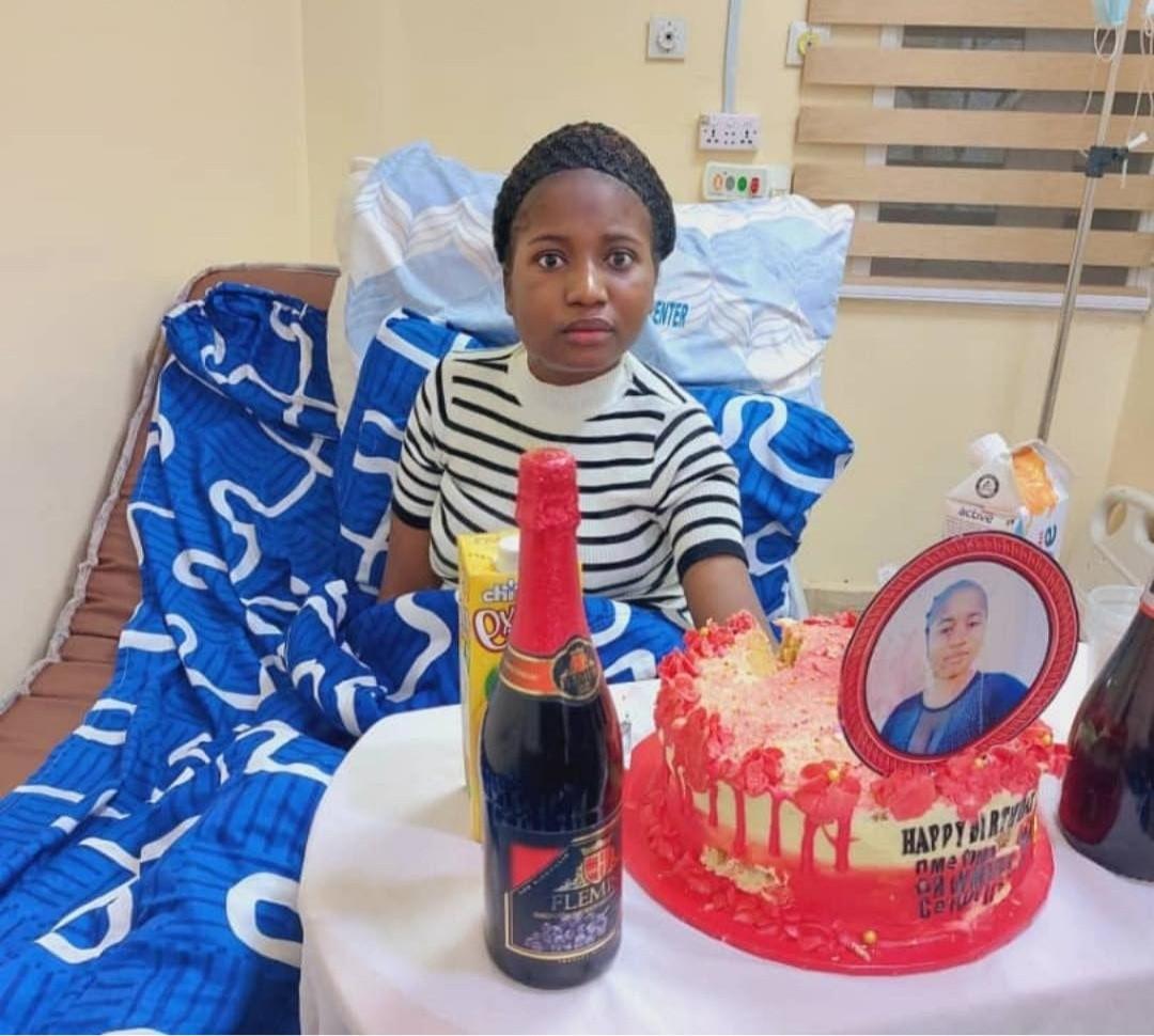 Well-wishers organize birthday celebration for Ada Jesus in hospital