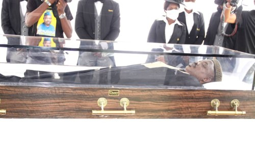 Yinka Odumakin   Photos From The Funeral Service Of Afenifere Spokesperson, Yinka Odumakin 6081830078f22