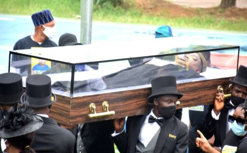Yinka Odumakin   Photos From The Funeral Service Of Afenifere Spokesperson, Yinka Odumakin 6081830fe2733