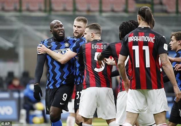 Zlatan Ibrahimovic and Romelu Lukaku fined for ?7,000 for