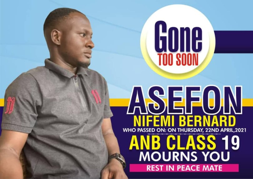 LAUTECH launches investigation into the death of final year student who fell into soakaway