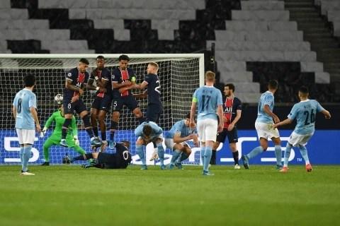 PSG 1-2 Man City: De Bruyne and Mahrez stun Mauricio Pochettino