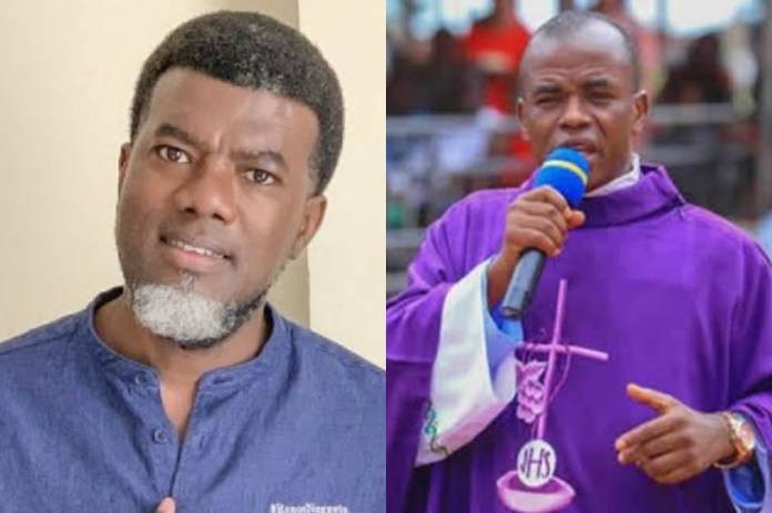 If the Catholic church does not defrock this man, he will rubbish their name - Reno Omokri attacks Fr Mbaka