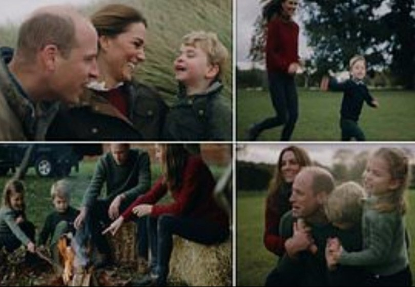 Prince William and Kate Middleton release intimate family video to mark 10th wedding anniversary