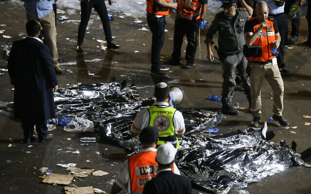 44 people crushed to death, over 150 hurt after stampede at religious bonfire festival in Israel