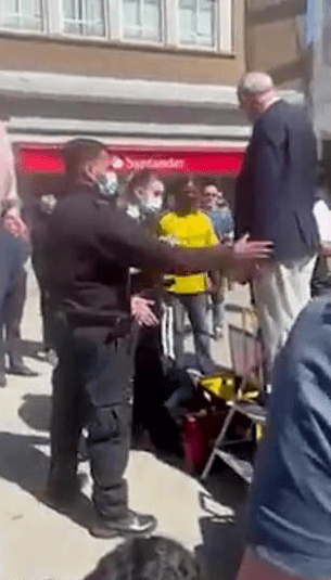 71-year-old preacher arrested for telling passers-by that God created only 2 genders (video)