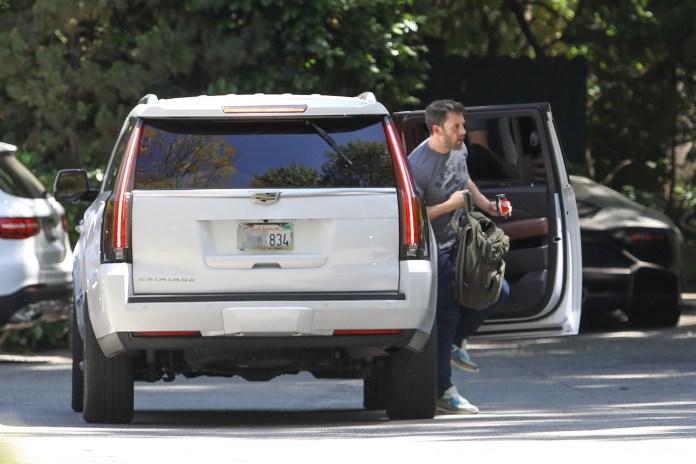 """Jennifer Lopez and ex-Ben Affleck have been """"spending time together"""" after her split from Alex Rodriguez"""