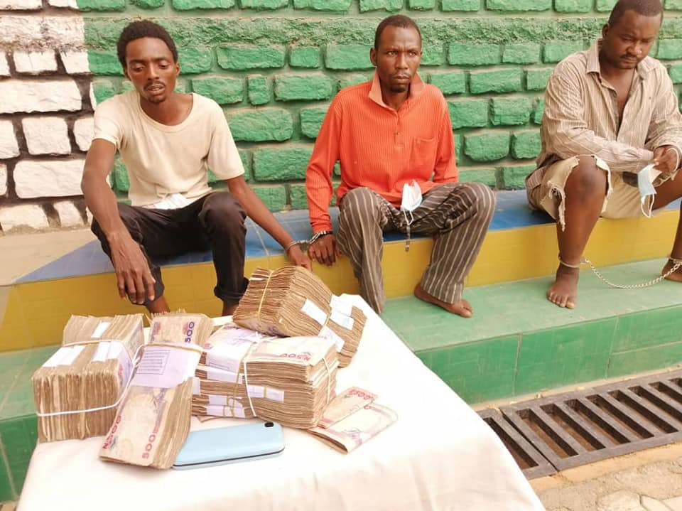 Update: Police parade four suspects who kidnapped and killed 6-year-old boy after collecting N1m ransom in Kaduna