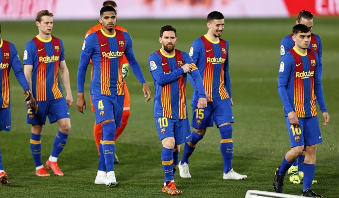 "Lionel Messi under investigation for ""breaking Covid-19 protocols by hosting a barbecue party for his Barcelona teammates and their partners"" at his mansion"