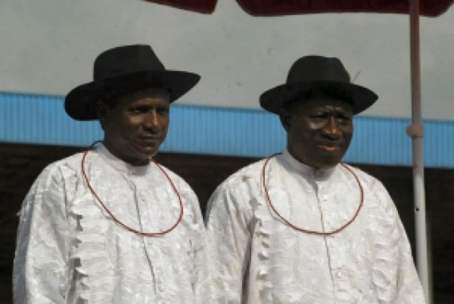 Ex-President Goodluck Jonathan pays tribute to his former boss, Umaru Musa Yar