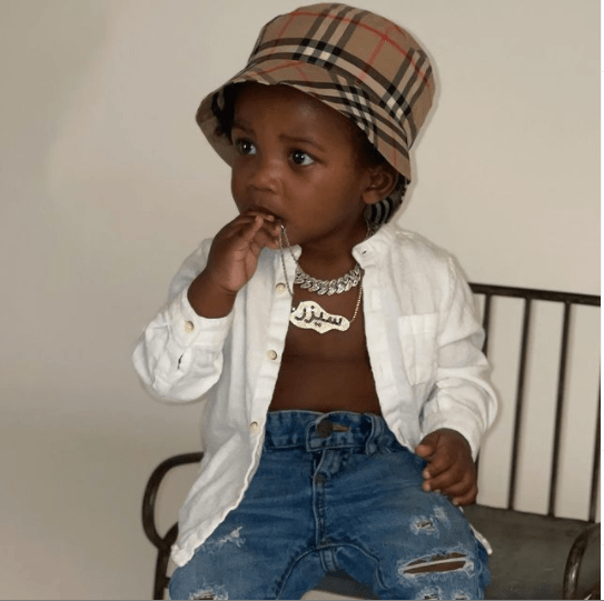 Meek Mill shows off his baby boy with Milan Harris?ahead of his 1st birthday?tomorrow