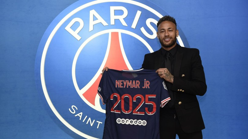 Neymar signs new contract extension with Paris Saint-Germain until 2025