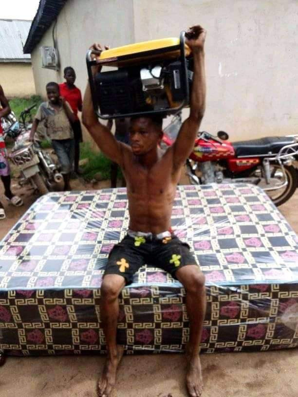 Suspected thief nabbed for allegedly stealing generator and mattress in Delta community