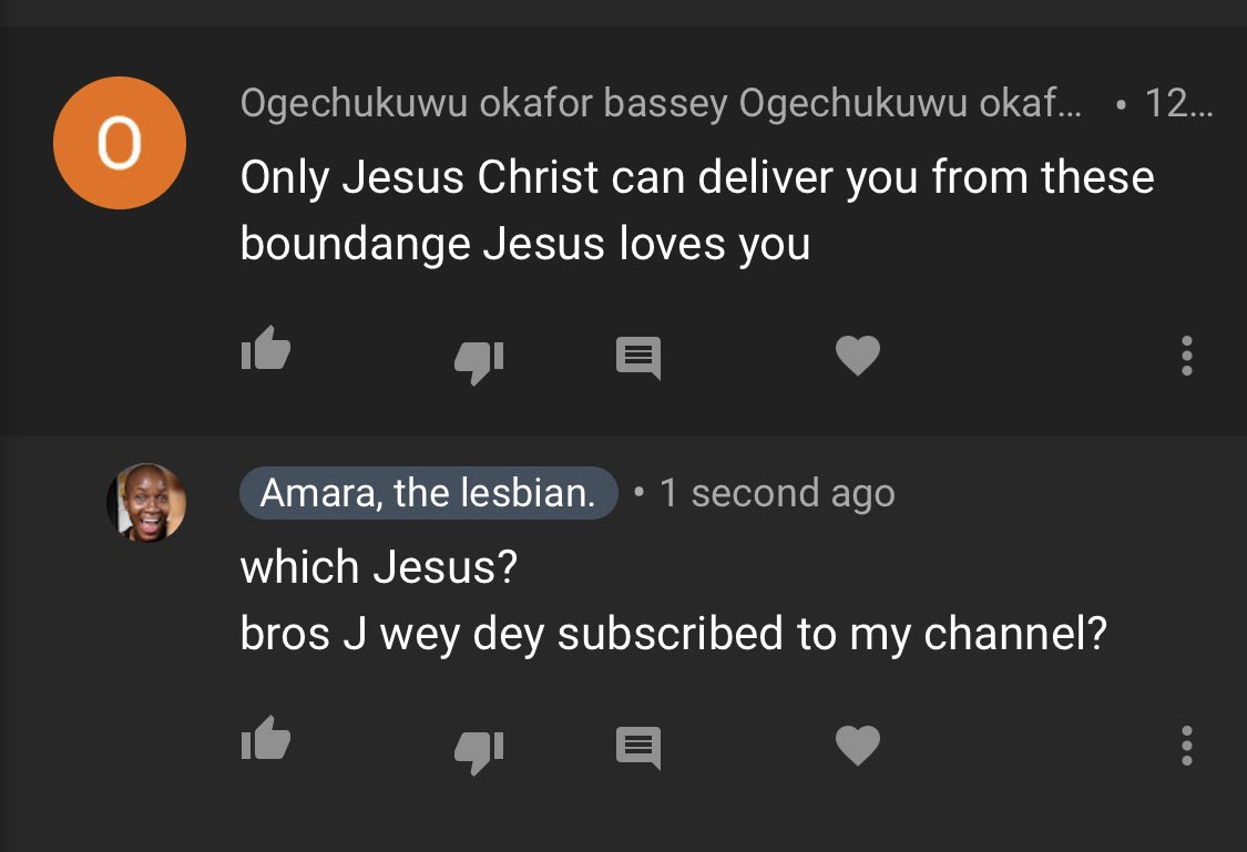 """""""I am not a sin"""" - Nigerian lesbian, Amara accuses"""