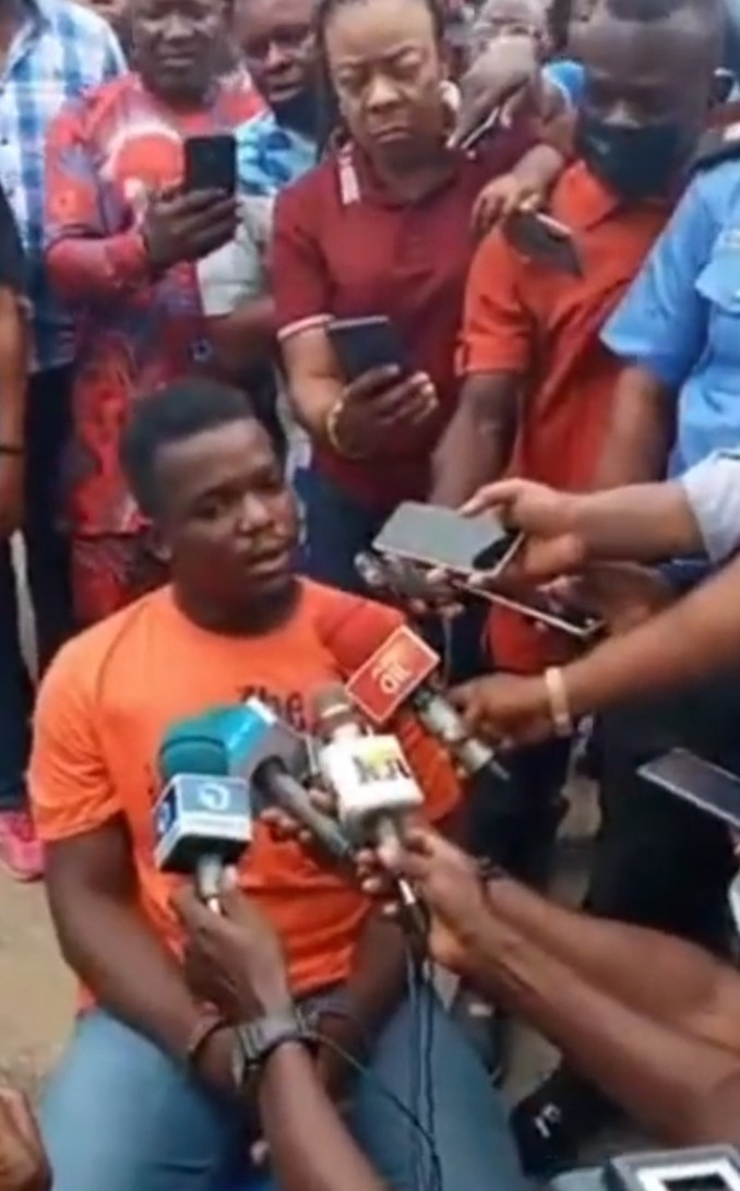Principal suspect in murder of Akwa Ibom jobseeker, Ini Umoren, claims she agreed to have sex with him and he killed her in self-defence (video)