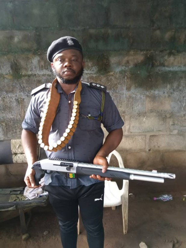 Another alleged attacker of Owerri prision arrested (photo)