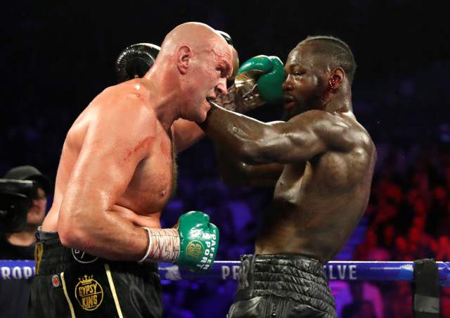 Tyson Fury could be forced to pay Deontay Wilder