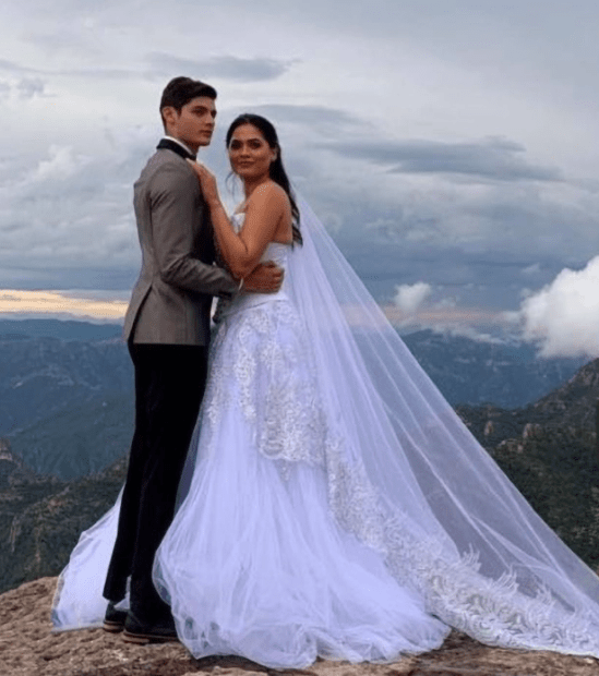 Newly-crowned Miss Universe winner, Andrea Meza, forced to deny she is married after ?wedding pics? emerge that could strip her of title