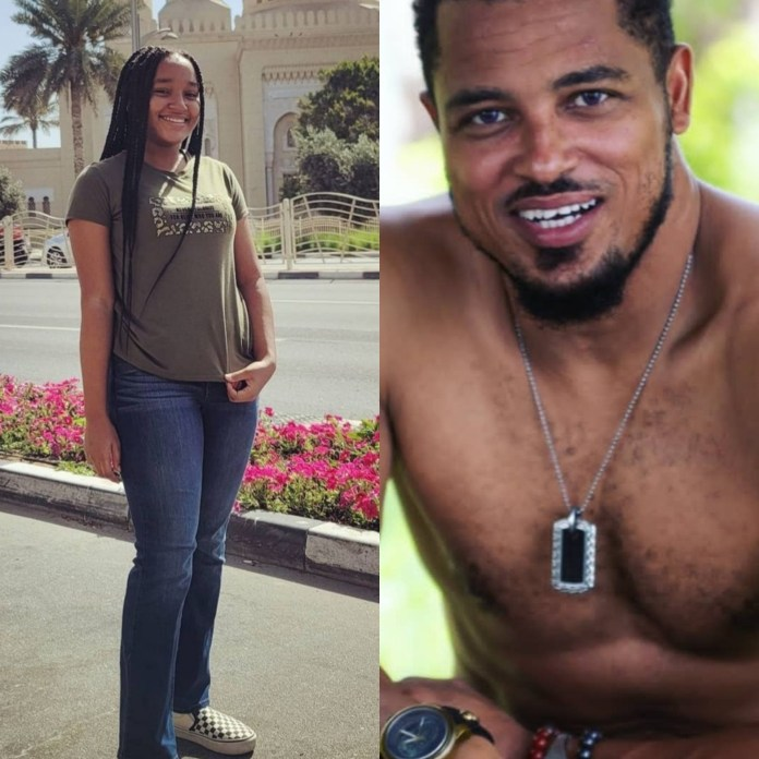 Actor, Van Vicker shows off his beautiful daughter as he celebrates her on her 15th birthday