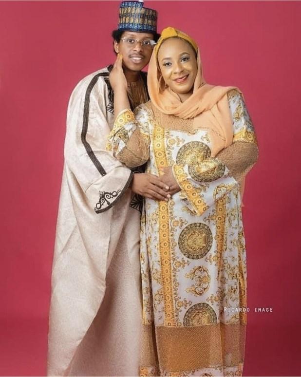23-year-old man marries 45 year old popular Adamawa politician, Barr. Jamila Babuba (photos)