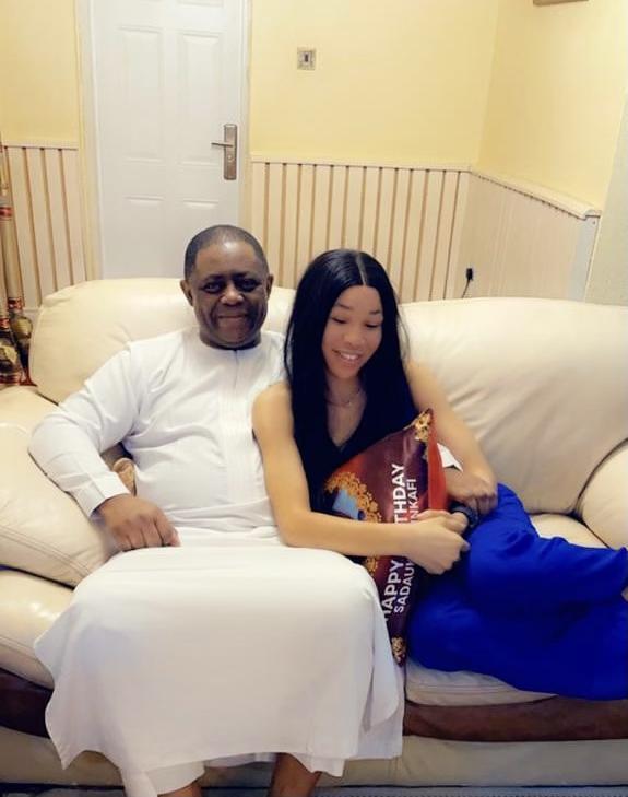 LIB Exclusive: Femi Fani-Kayode finds love again, meet his new girlfriend, Chika Nerita (photos)