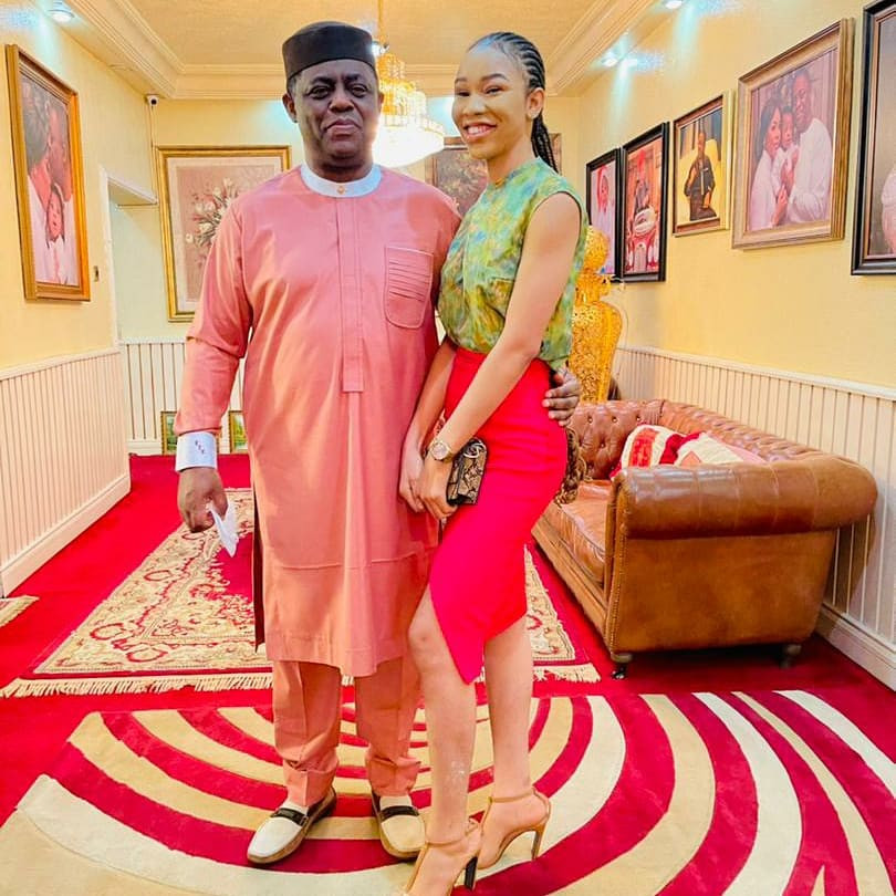 LIB Exclusive: Femi Fani-Kayode finds love again, meet his new boo, Nerita (photos)