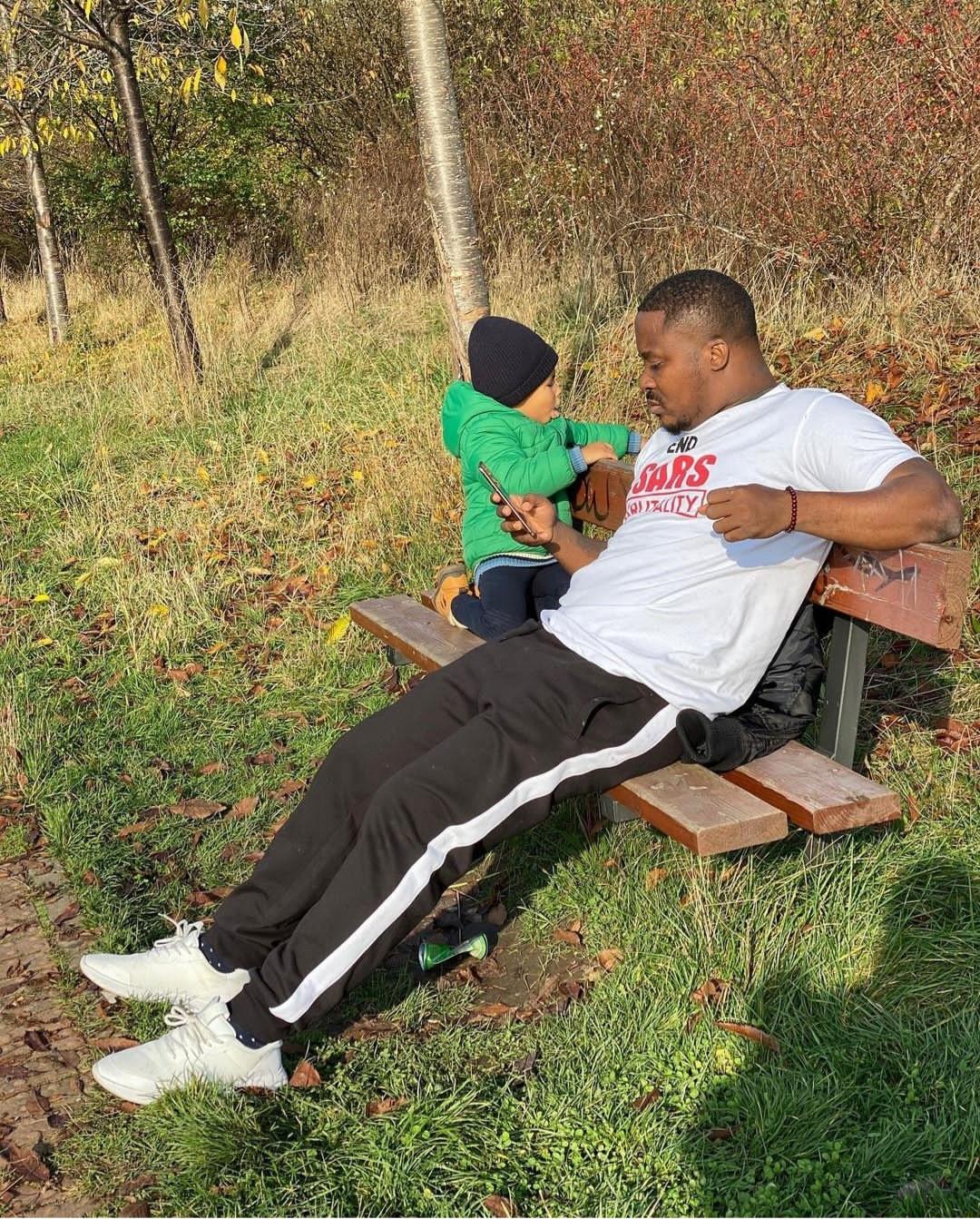 Jaywon shows off his son, Brayden, in adorable photos