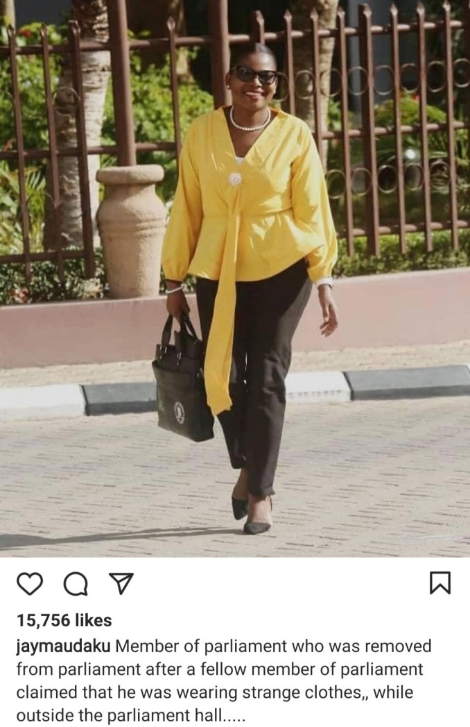 Tanzania female MP is berated and thrown out from parliament for wearing trousers