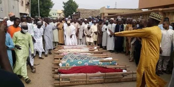 17 Kano young men die in fatal motor accident while returning from friend