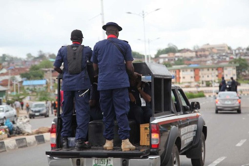 NSCDC official shoots bus driver in Rivers
