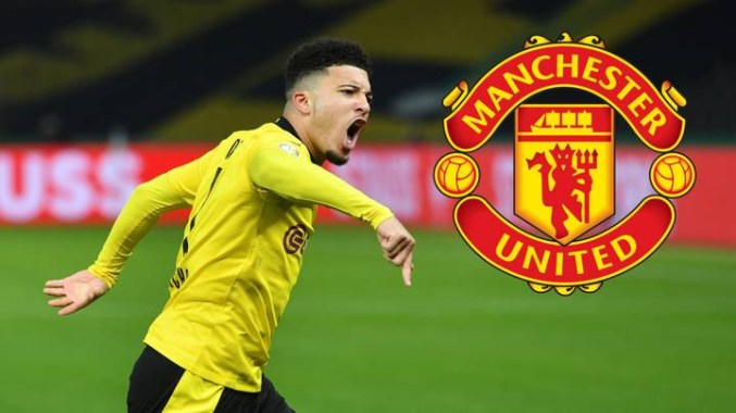 Manchester United reportedly agree personal terms with Borussia Dortmund's Jadon Sancho until 2026