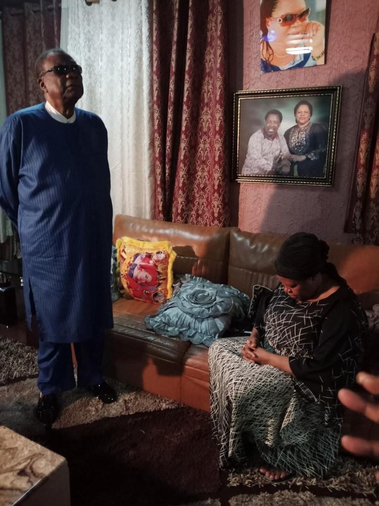 Prophet Abiara pays condolence visits to late T.B Joshua?s widow (photos)