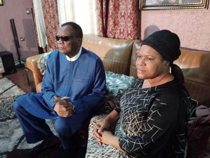 Prophet Abiara pays condolence visits to late T.B Joshua's widow (photos)
