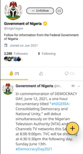 Nigerian government joins Twitter's Indian-owned rival app Koo