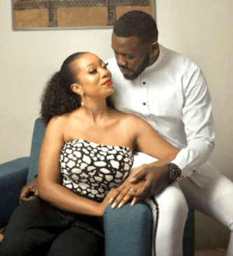 Thank God for creating you, bringing us together and packaging me enough for you''- actor Deyemi Okanlawon, celebrates his wife