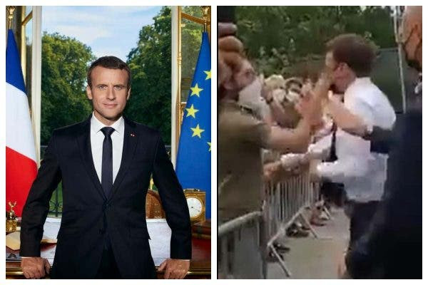 Update: Man who slapped President Macron says he did it because of France's 'decline'