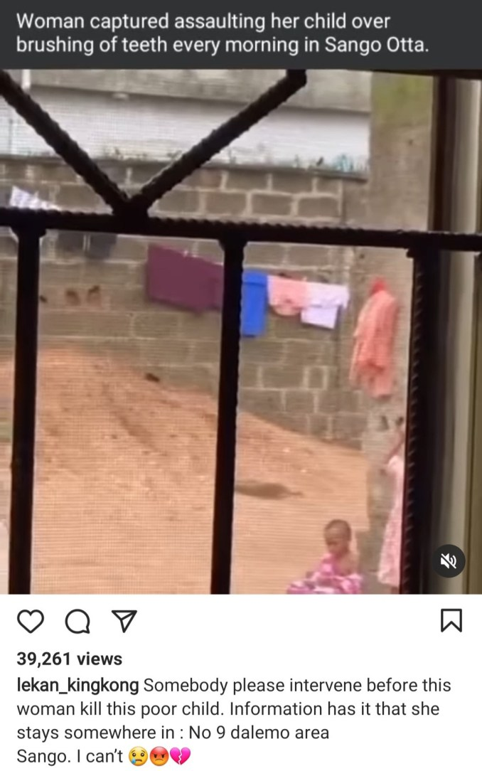 Woman caught on video brutally assaulting her daughter and attempting to break her elbow while helping her brush her teeth