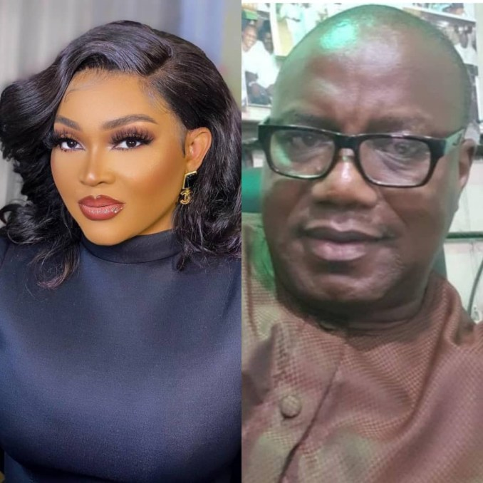 Mercy Aigbe's ex-husband, Lanre Gentry, shades her after she mentioned she pays school fees in dollars in her father's day message to herself