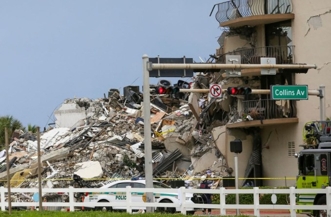 Update: 159 unaccounted for following building collapse in Miami
