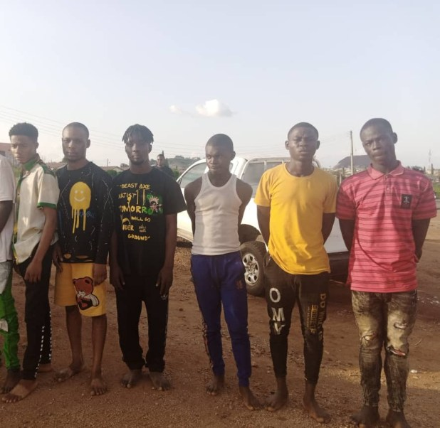 Fourteen arrested for allegedly kidnapping Crown Polytechnic student in Ekiti (photos)