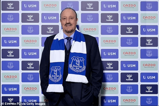 Rafa Benitez signs historic deal to become Everton's new manager