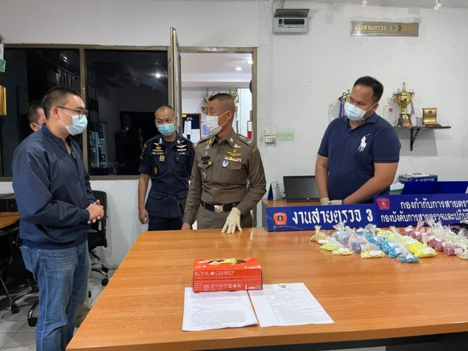 Nigerian man arrested with 7,000 ecstasy pills in Thailand