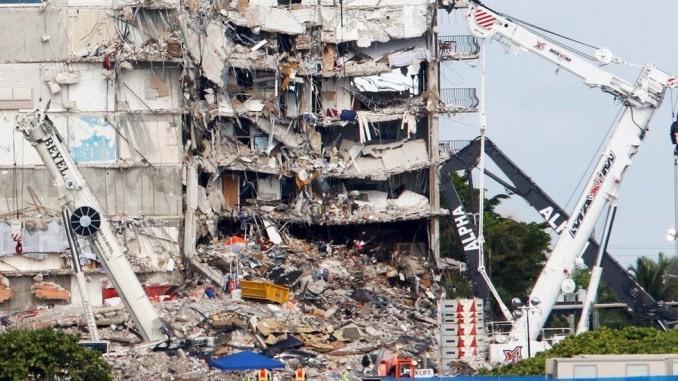 Update: Firefighter's 7-year-old daughter among two victims found dead in Miami building collapse as death toll rises to 22 with 126 people still missing
