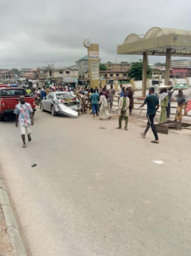 Many feared dead as gas tanker rams into market in Ibadan