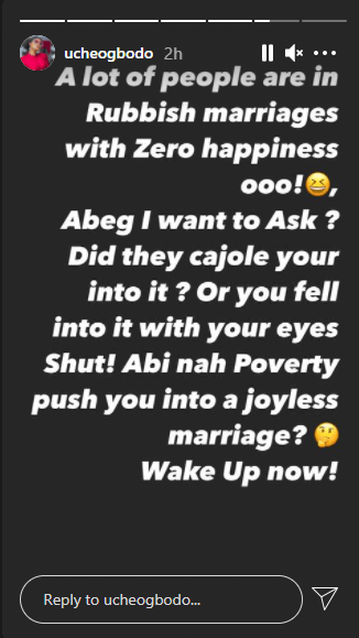 Did they cajole you into it? Uche Ogbodo asks people in