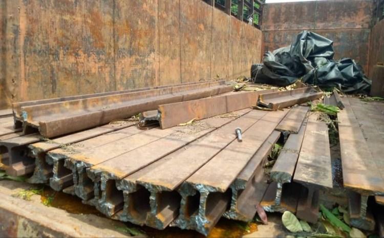 Three suspected railtrack vandals arrested in Enugu (photos)